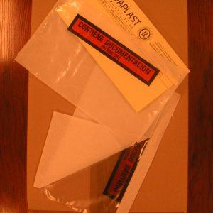 Bolsas packing list